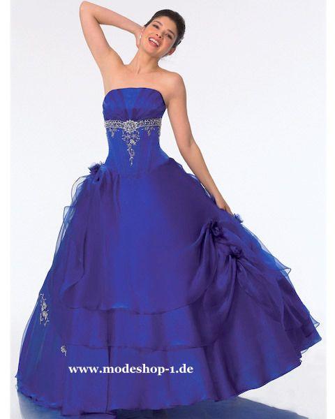 Quinceanera Mode Ballkleid Brautkleid Marajó in Blau www.modeshop-1 ...