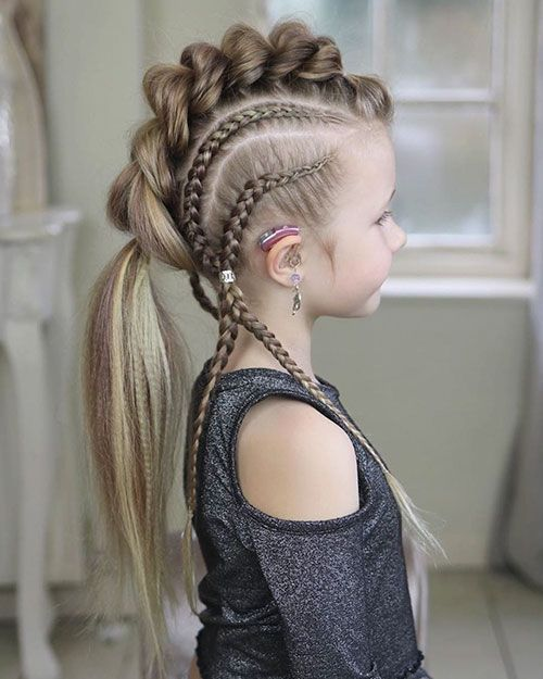25 new braided hairstyles for girls »Hairstyles 2020 New hairstyles and hair colors