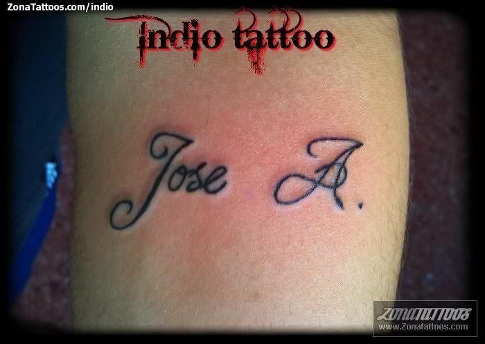 Tattoo Con El Nombre De Jose A Tattoo Nombres