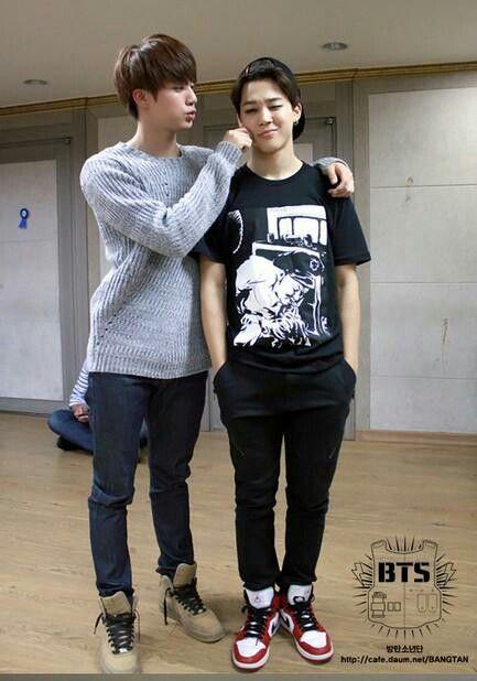 Aww the height difference in Jinmin | Jinmin