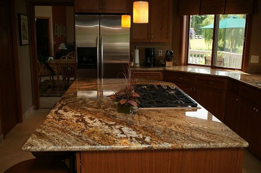 Brown Granite Countertops | Photos Of Granite Countertops Birthday Brown  Style Inspired To Design .