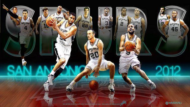 San Antonio Spurs Team 2012 San Antonio Spurs San Antonio Spurs Logo Basketball Senior Pictures