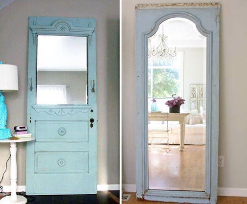 mirrors from door