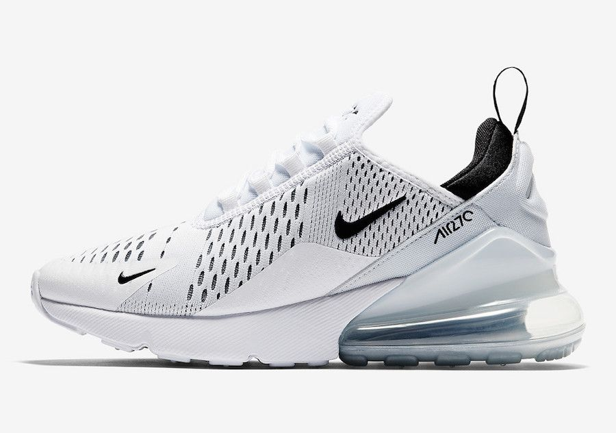 Nike Air Max 270 White Black AH6789 100 | My Accessorie