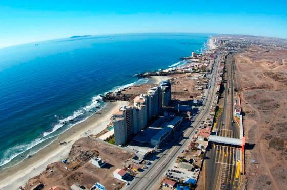 Rosarito Beach Baja California Mexico Sky High