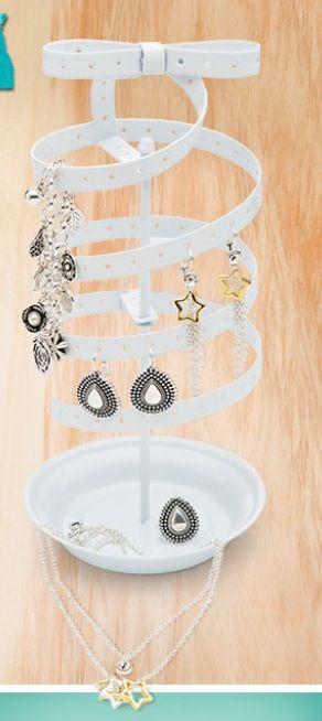 Porta jóias espiral brincos