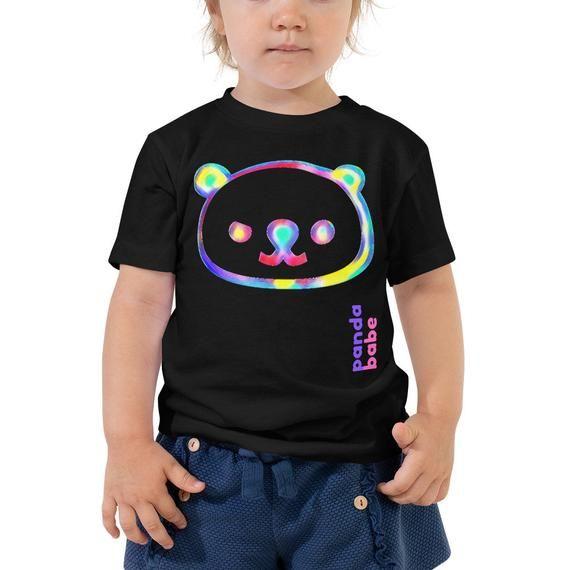 Panda-Toddler Panda Tshirt-Panda Kids T-shirt-Boy Girl Bear-Cute Panda Baby-Gift For Baby-Panda Party-Kawaii Panda-Panda Bear Face #babypandabears
