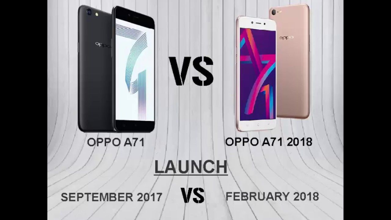 Main Difference Between Oppo A71 vs A71 2018 / Review(CMZ ...