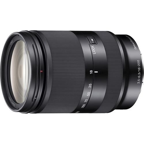 Sony 18 200mm F 3 5 6 3 Compact E Mount Standard Zoom Lens Takes Nice Pictures From A Distance Save Up For This One Zoom Lens Sony Lens Sony Camera