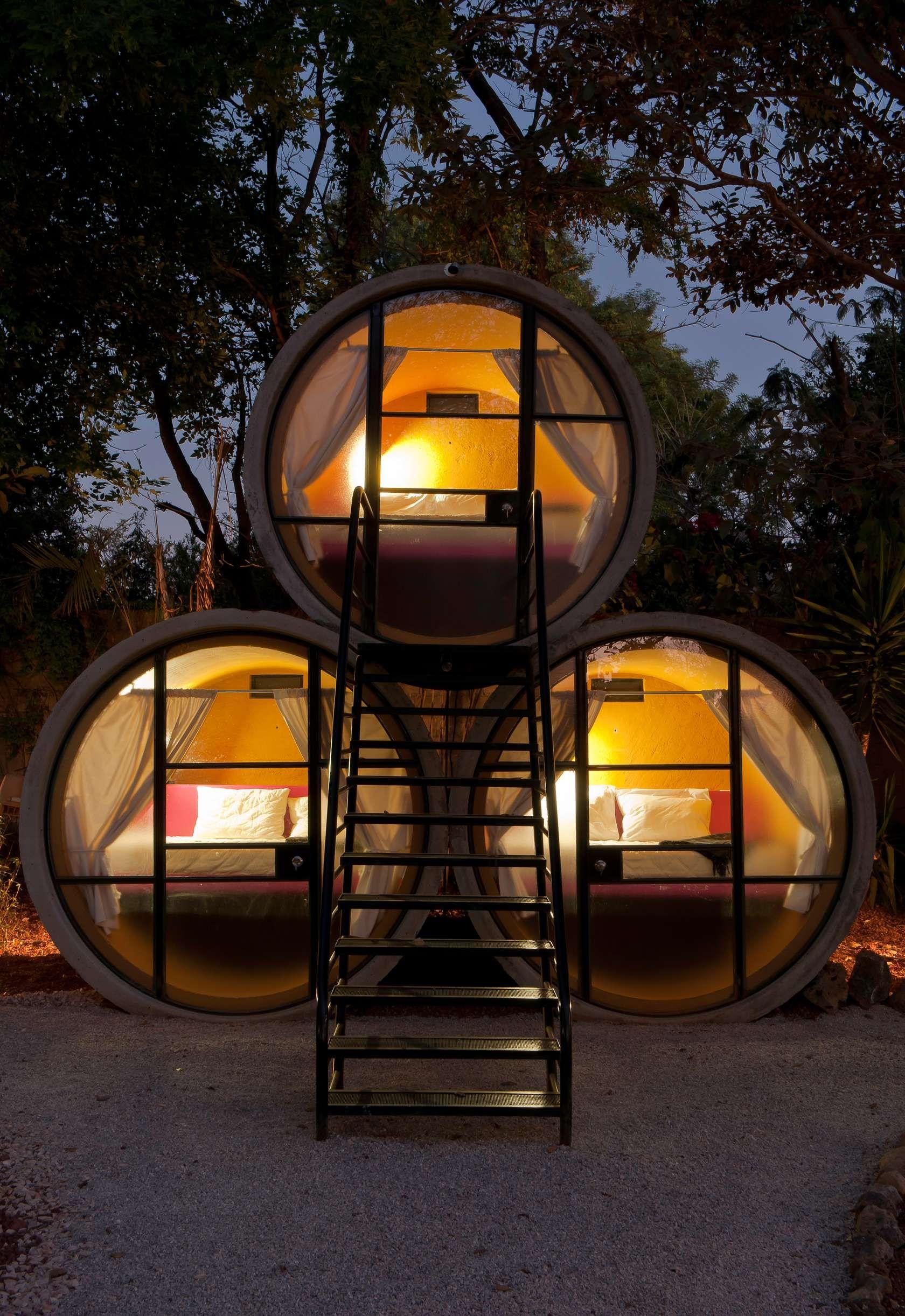 En Tepoztlán se encuentra el más curioso de los hoteles exóticos.