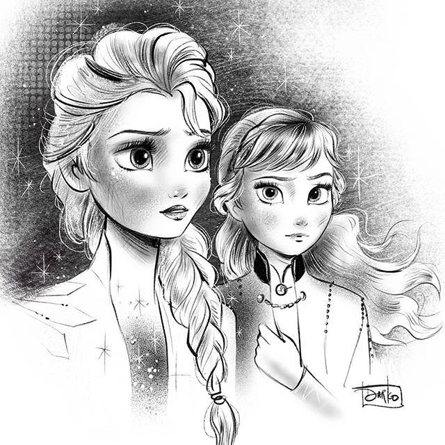 Disneyladies Auf Instagram Repost Darkodark Disneyfrozen Frozen Elsa Princessanna Procr Disney Frozen Elsa Disney Sketches Frozen Art