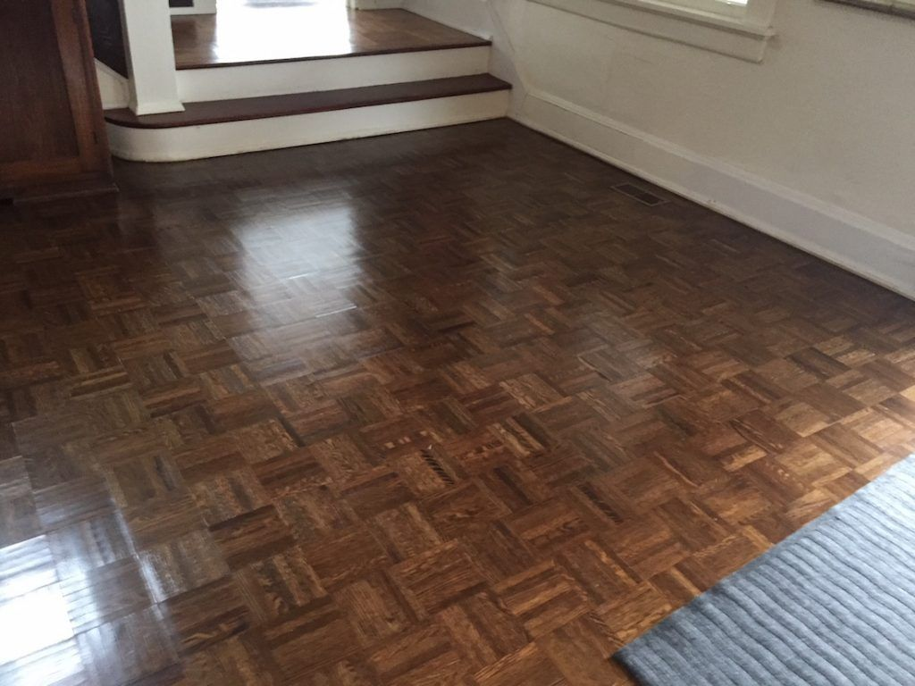 Relatively Refinishing Parquet Floors In Mountain Lakes Nj Monk S Pa89