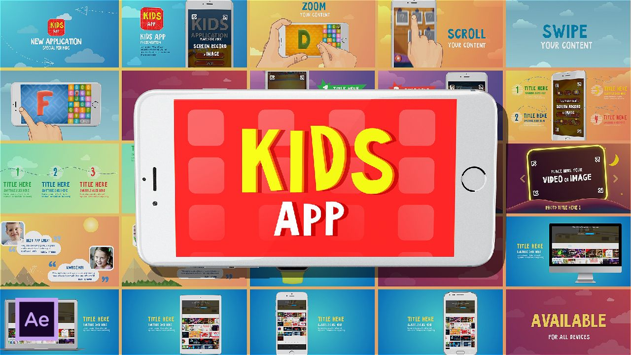 kids-app-1-0-after-effects-template | After Effects