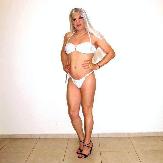 White Bikini #sexy #pretty #blonde #crossdresser #crossdressing ...