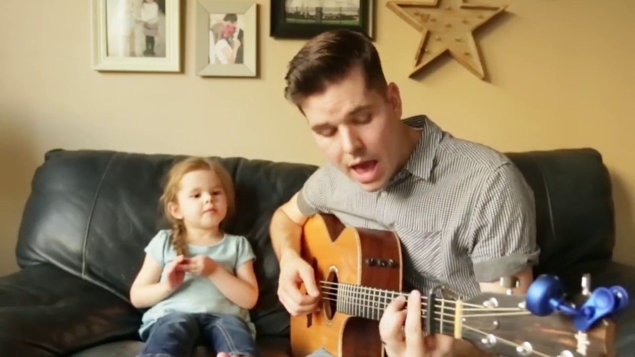 4 Year Old Kid Singing With Dad Make My Day ! Cutest Thing