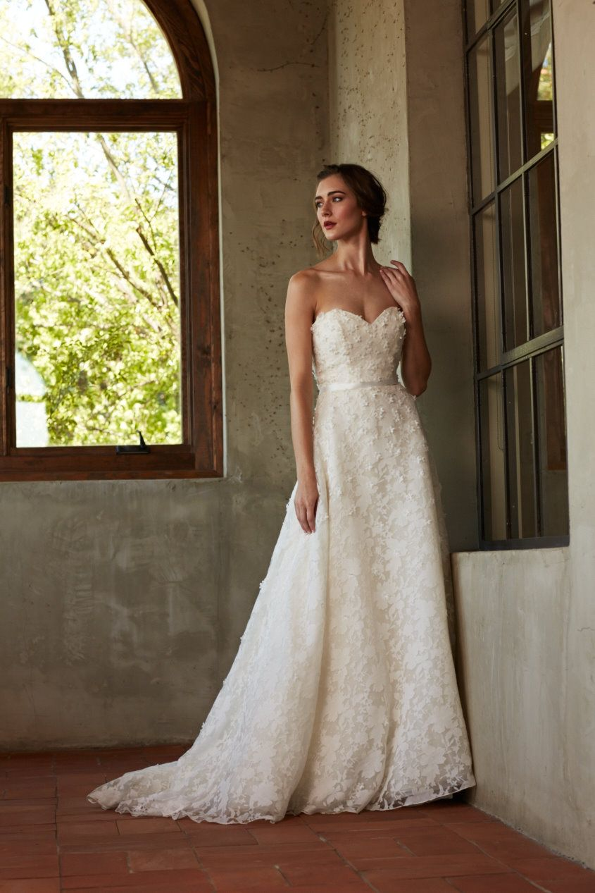 Amberley by Blue Willow Bride. Sweetheart strapless Aline wedding ...