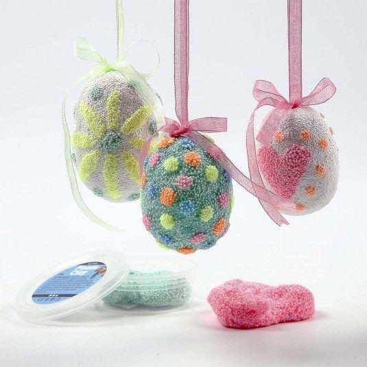 Foam Clay Glitter voor Pasen