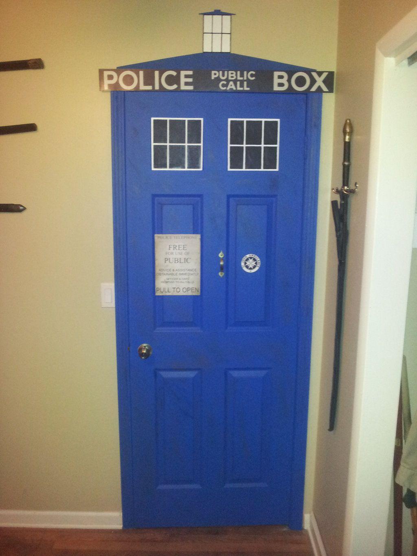 door painted like tardis - Google Search & door painted like tardis - Google Search | Home | Pinterest | Doors pezcame.com