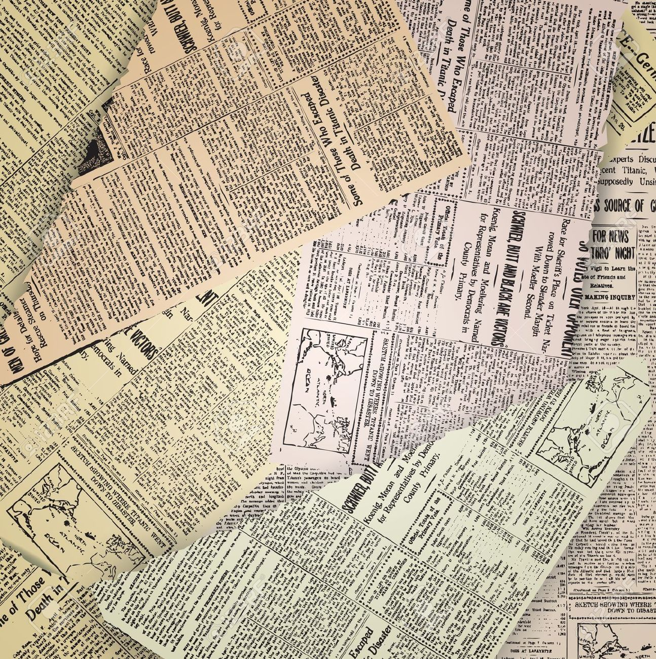 Vintage Newspaper Background Wallpaper Google Search In