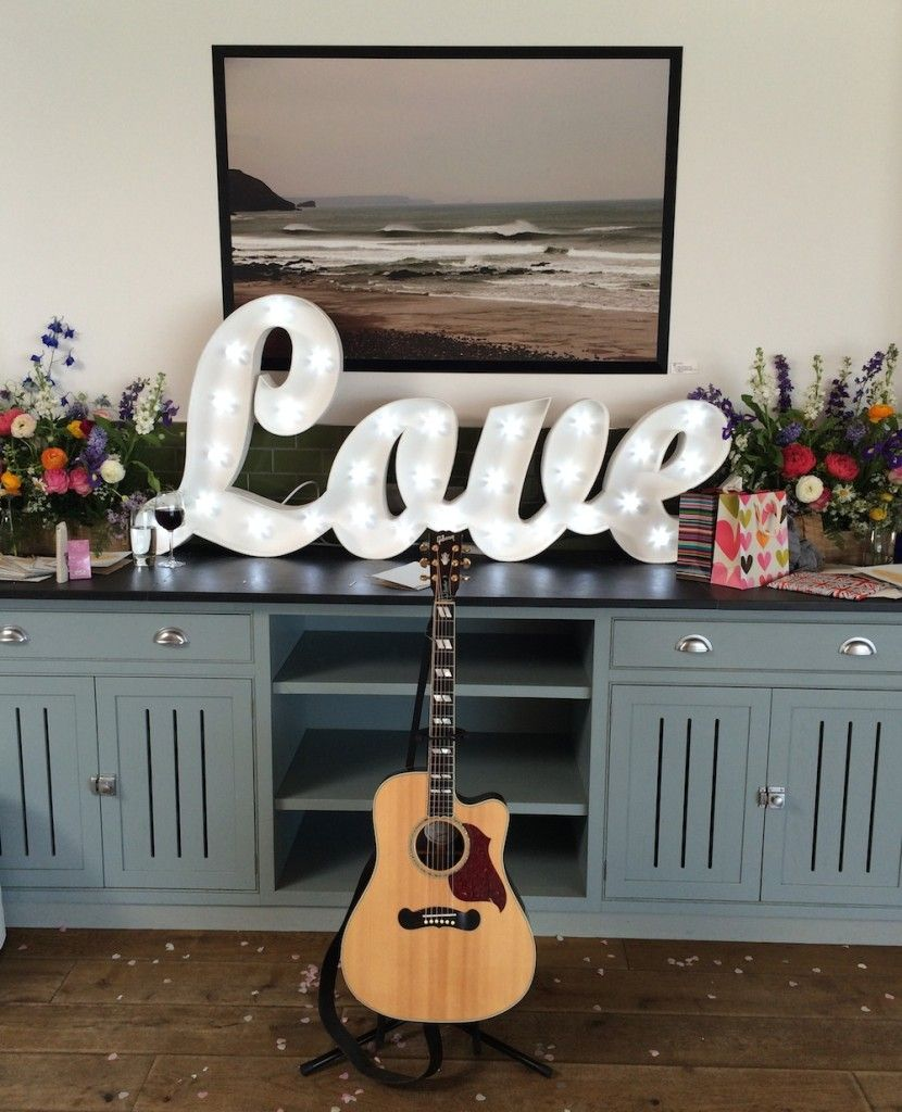 Live Wedding Musician Pat McIntyre Plays An Acoustic Set At A Ceremony And Drinks Reception Stunning Watergate Bay In Cornwall