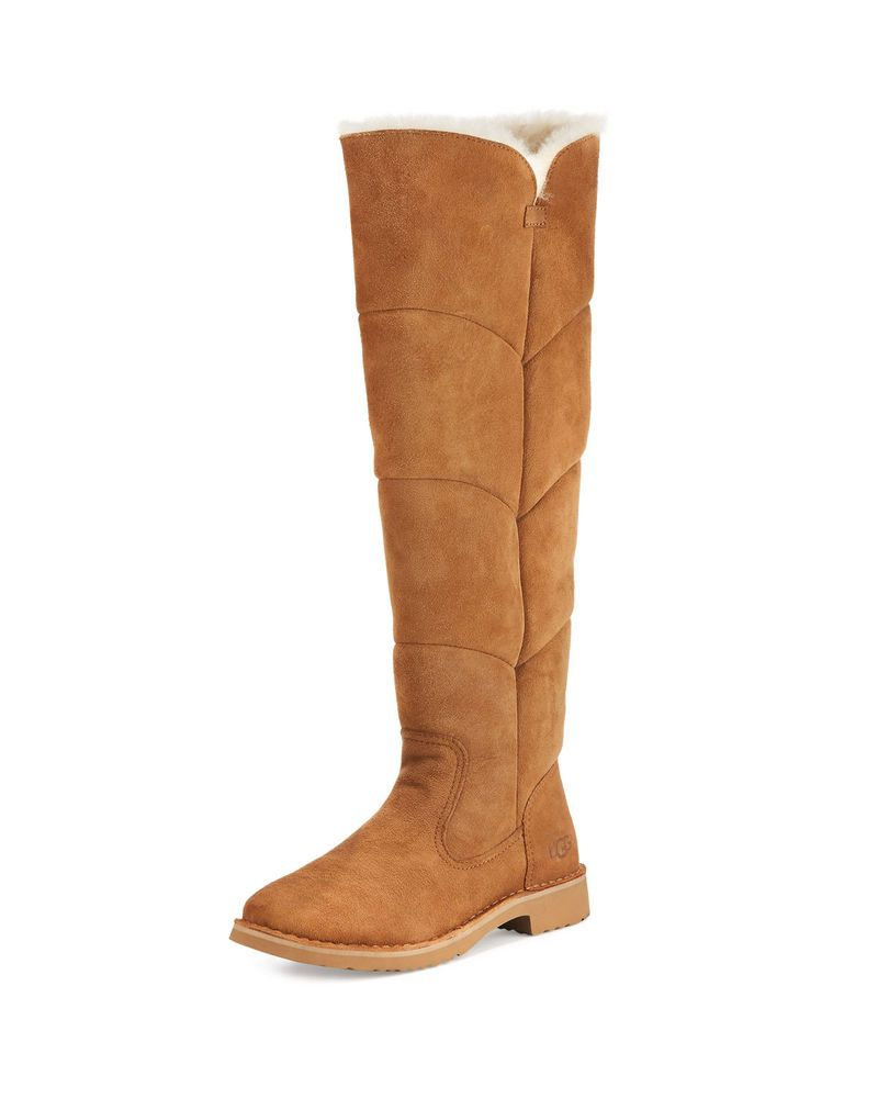 ea67376164b Details about Ugg Australia Loma Over the Knee Boot Black or ...