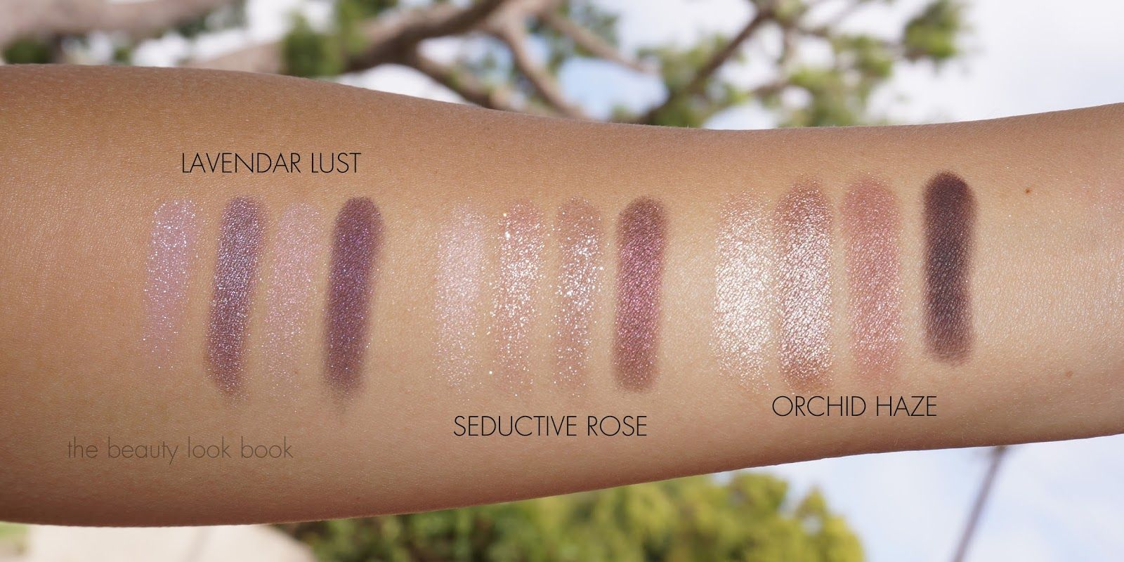 Tom Ford Eyeshadow Quads Lavender Lust Seductive Rose
