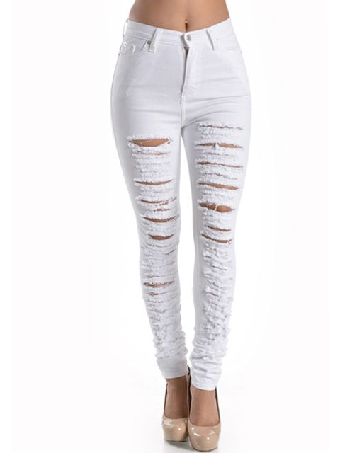 bigchipz.com womens high waisted skinny jeans (08) #skinnyjeans ...