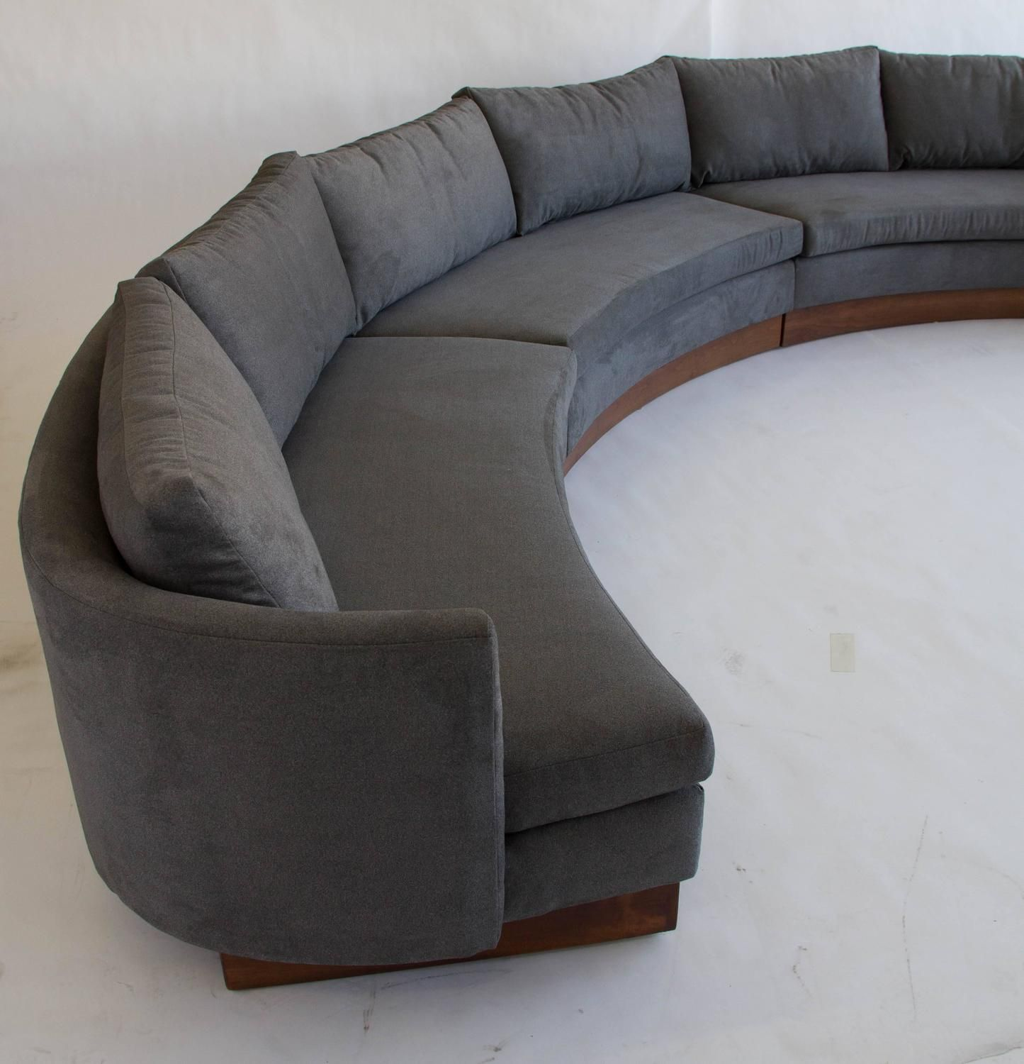Custom Semi Circular Sectional By Carson S Of North Carolina From A Unique Collection Antique And Modern Sofas At