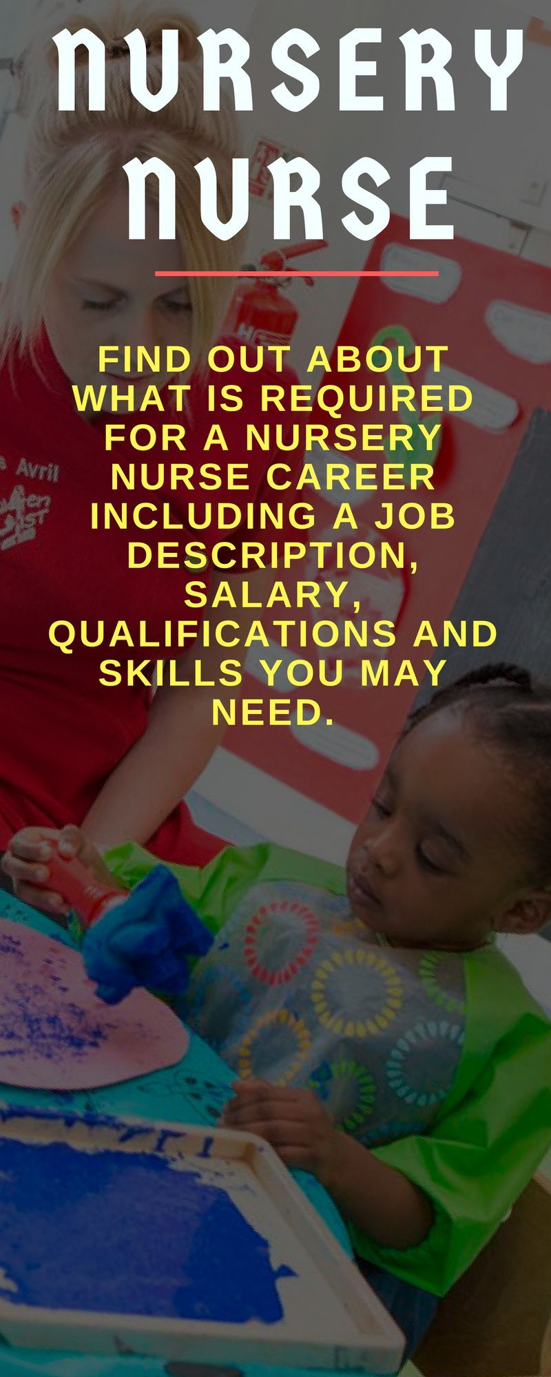 Find out about what is required for a nursery nurse career