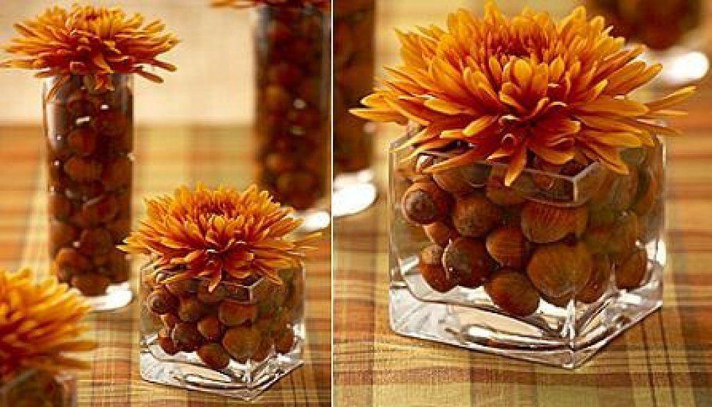 ¡Hermoso centro de mesa para Thanksgiving! Encuentra otras opciones en: ¡Hermoso centro de mesa para Thanksgiving! Encuentra otras opciones en: http://www.1001consejos.com/10-platillos-tipicos-de-thanksgiving/