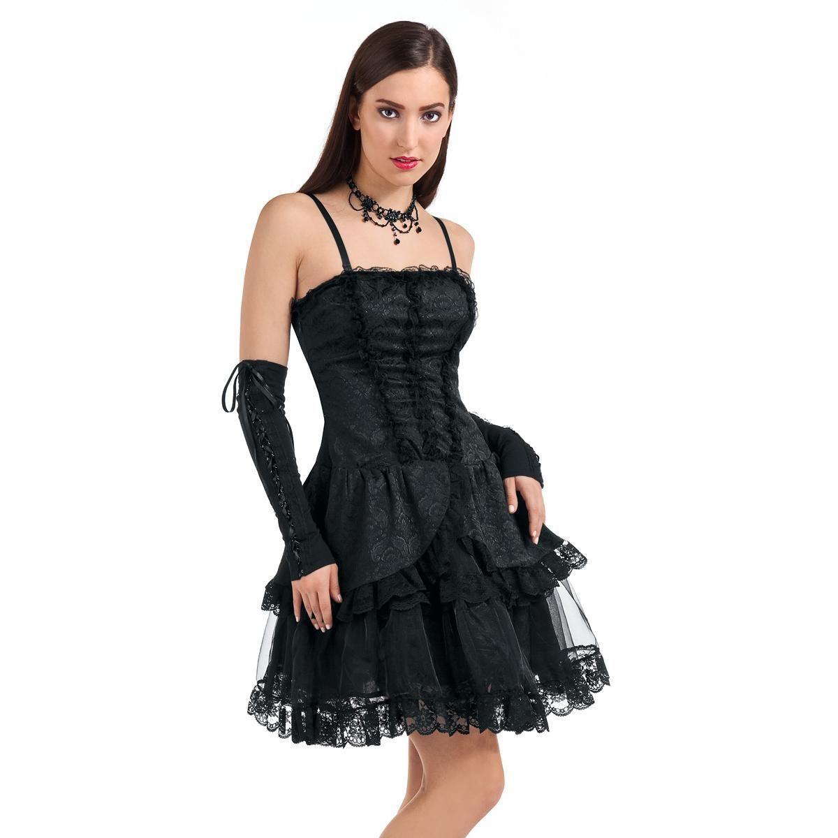 Goth fashion velvet gothic dress von queen of darkness dresses