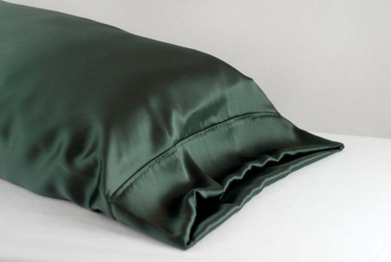 100 Silk Pillowcase Evergreen Standard Or King By