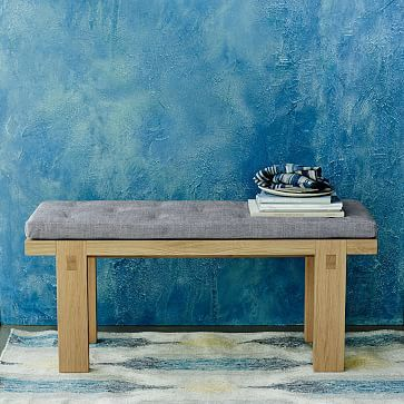 Modern Woodwork Dining Bench Westelm Living And Dining Dining