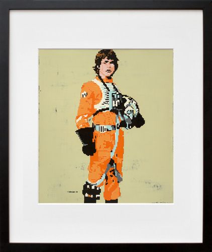 Luke Skywalker By Hollis Brown Thornton 20x200 My Tips