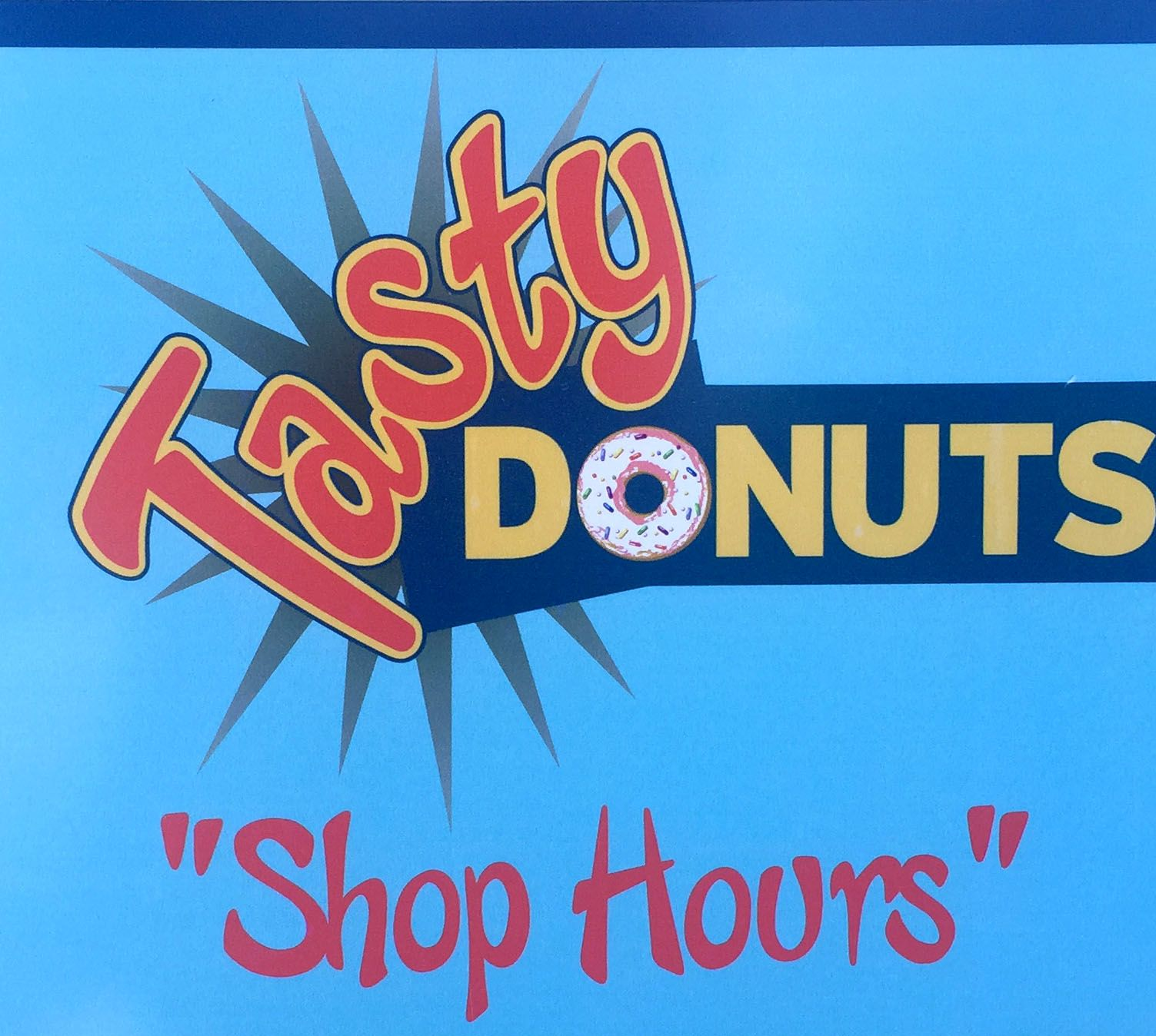 Tasty Donuts need tasty fonts CHEEKY MONKEY in use in