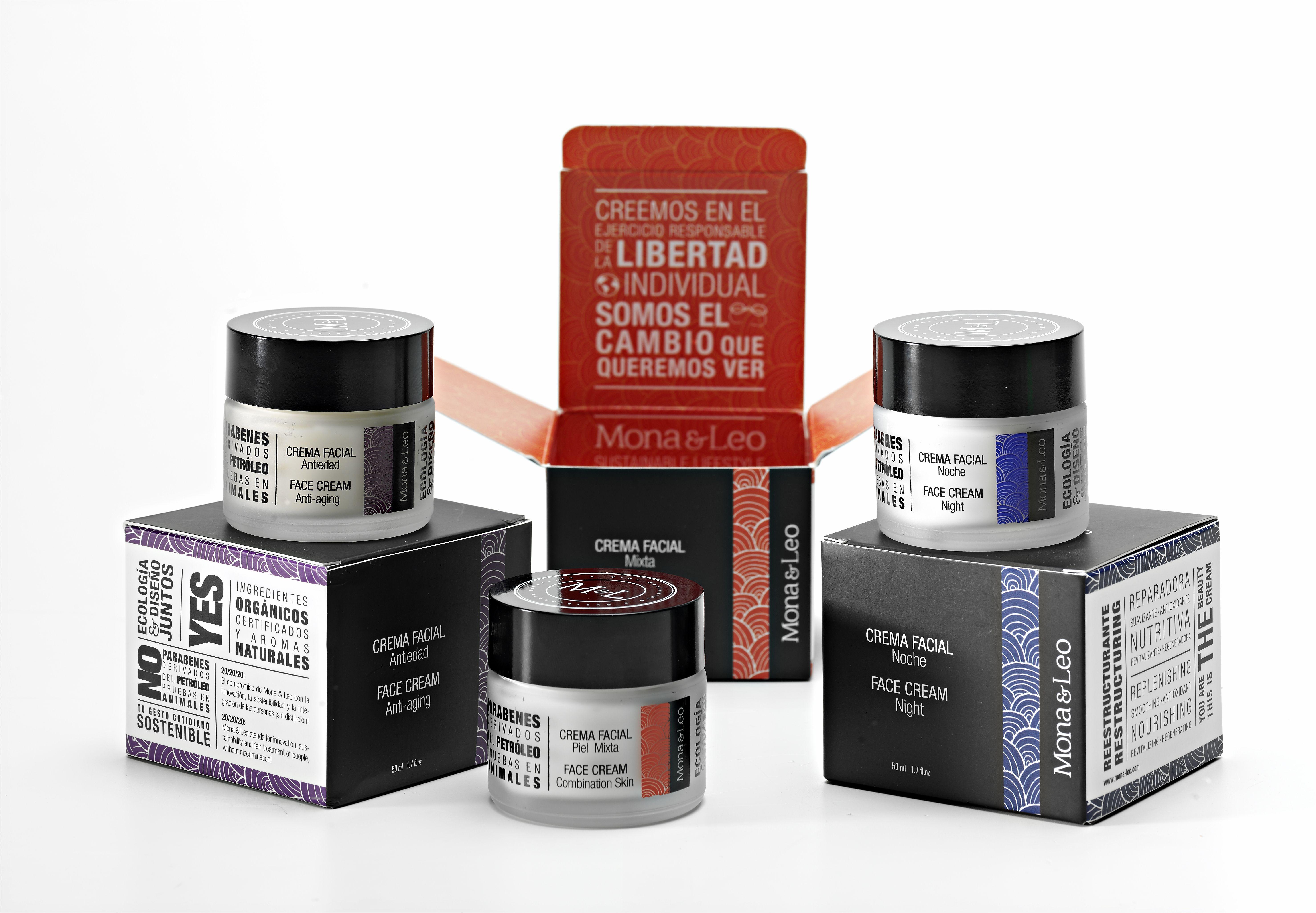 Otra opción es combinar cremas, ya que no siempre nuestra piel nos demanda lo mismo. Depende de la hora del día podemos usar un tipo de crema diferente.