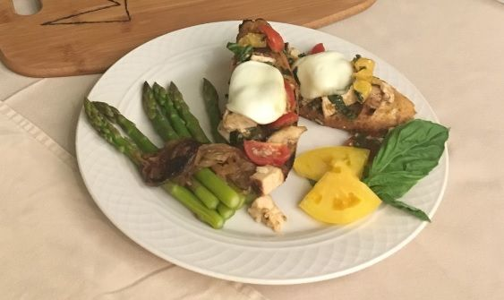 We're thrilled to share with you this delicious recipe by Senior Eats™ Nutritional Challenge finalist Mickey Averill, dining services coordinator at Sunrise of Norwood, MA.