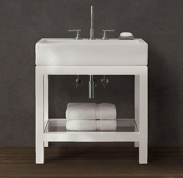 Hutton Single Console Washstand Bathroom Ideas