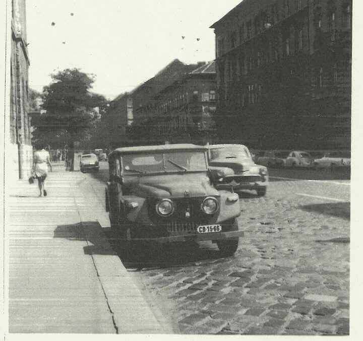 1960-as évek vége. Rudas László / Podmaniczky utca.