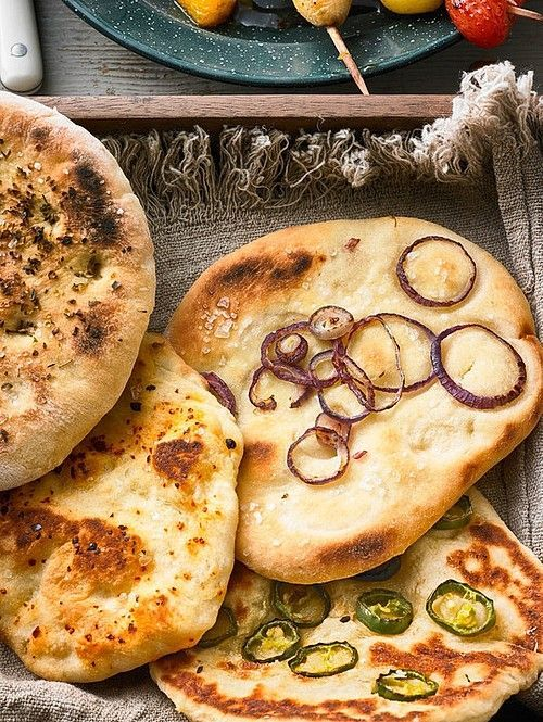 Photo of Flatbread from the grill, from the pan or oven from Peppiii | chef