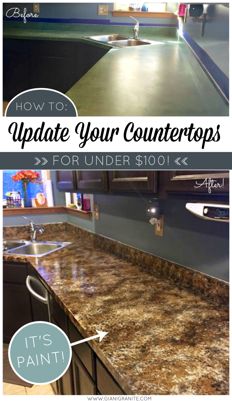 Beautiful Painted Countertops Diy Countertop Paint Kits From