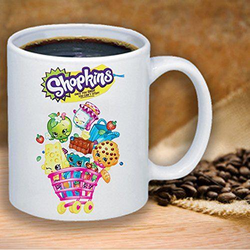 Shopkins Kooky Cookie Cheeky Chocolate Apple Blossom Funny Coffee Mug 11 Ounce Office Gift