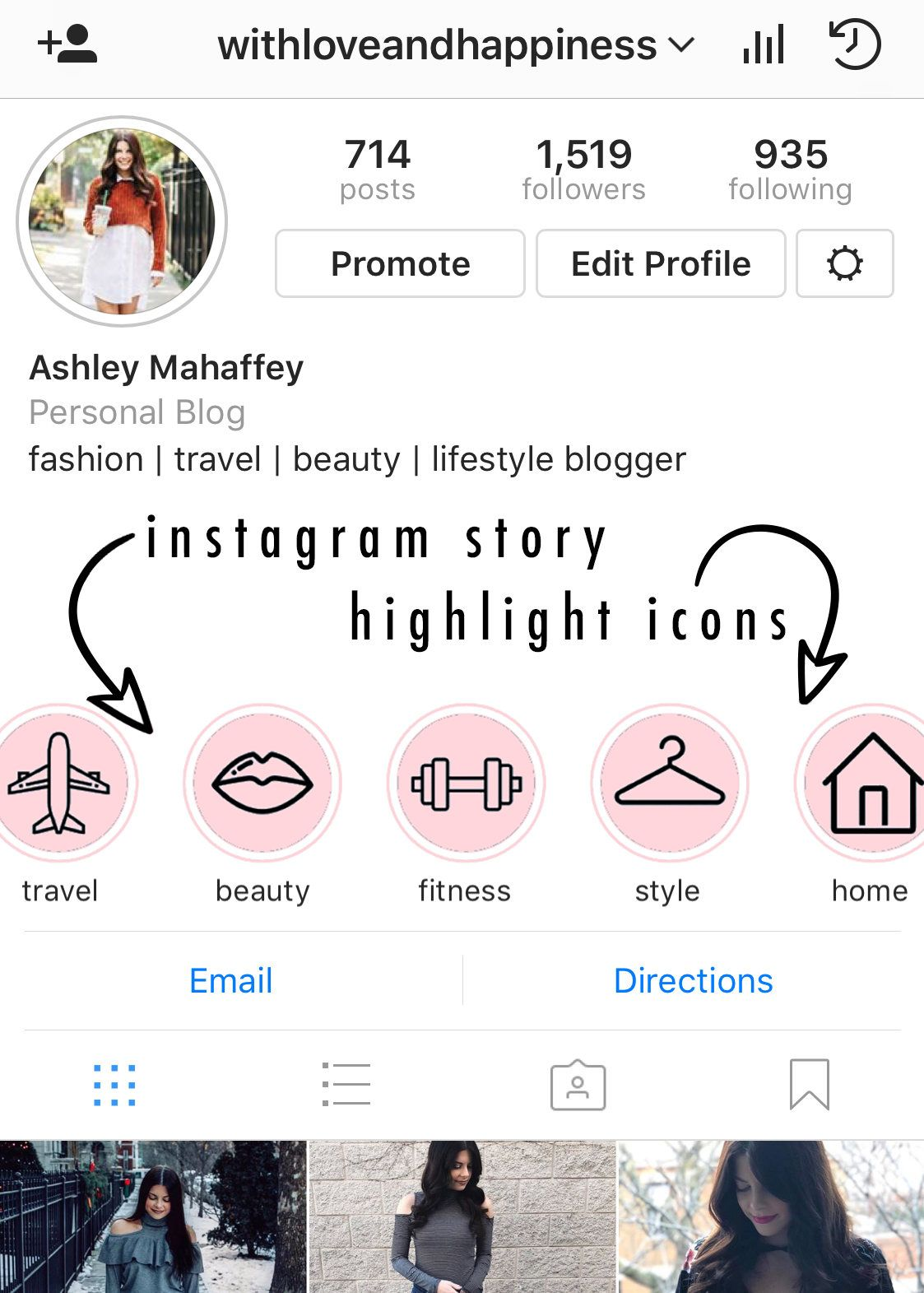 Purchase Instant Download Instagram Story Highlight Icons Blush