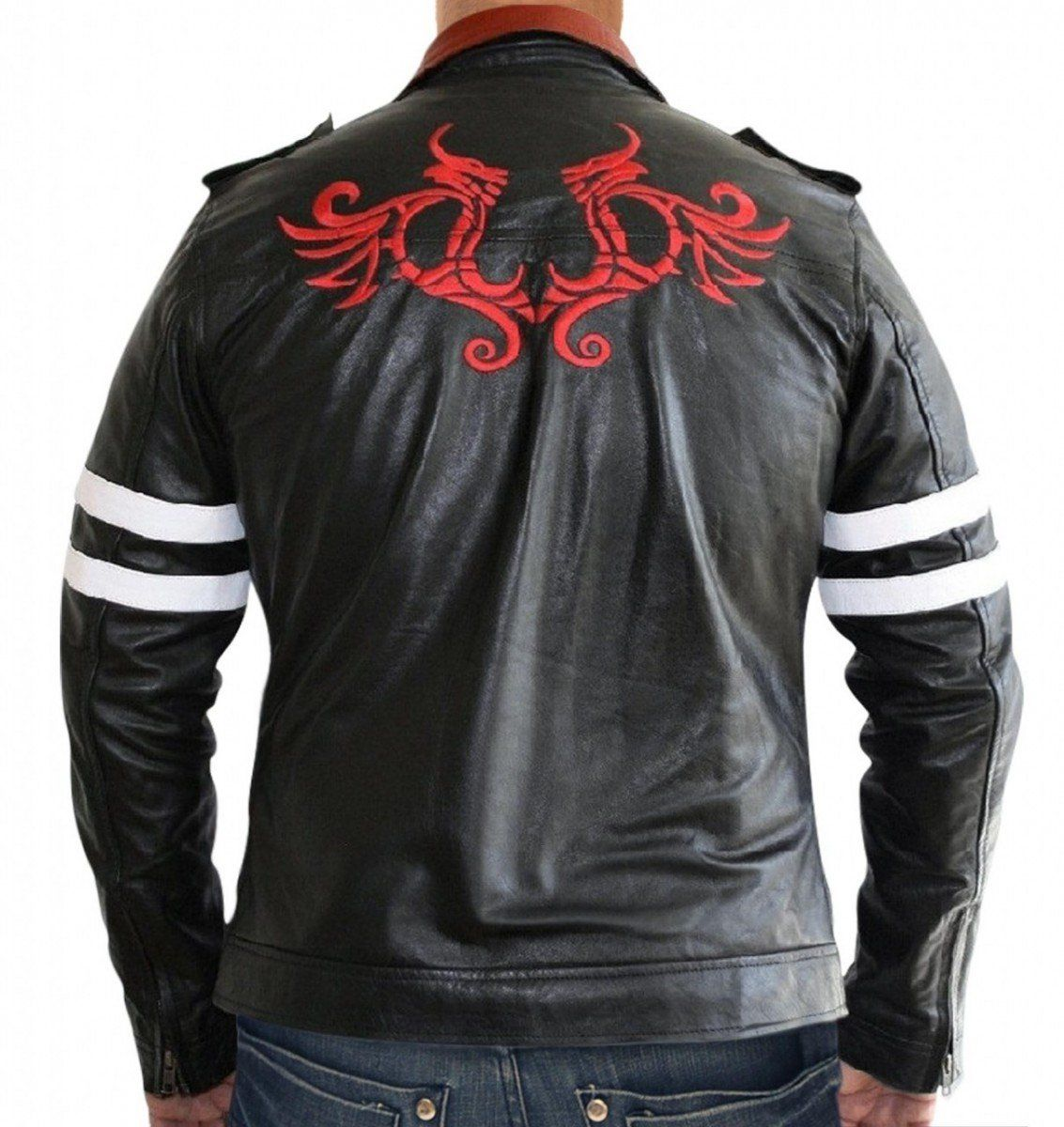 This Jacket Has Been Derived From Iconic Videogame Prototype Where The Leading Character Of The Mens Leather Coats Leather Jacket Men Leather Jackets Women [ 1200 x 1133 Pixel ]
