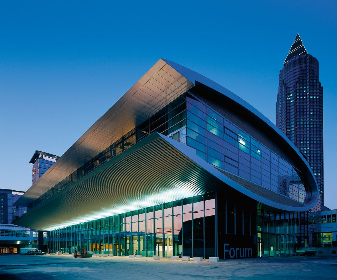Architekten Frankfurt forum messe frankfurt am ksp jürgen engel architekten