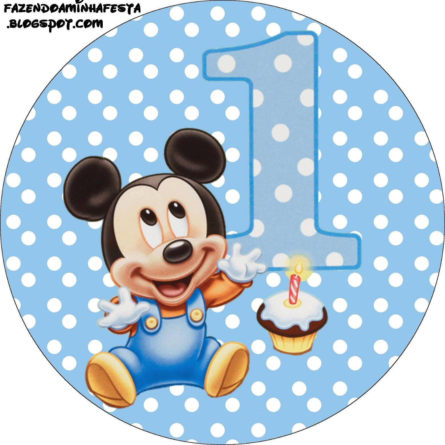 12 latinha1 decoraci n de minie cumplea os mickey bebe - Decoracion primer cumpleanos ...
