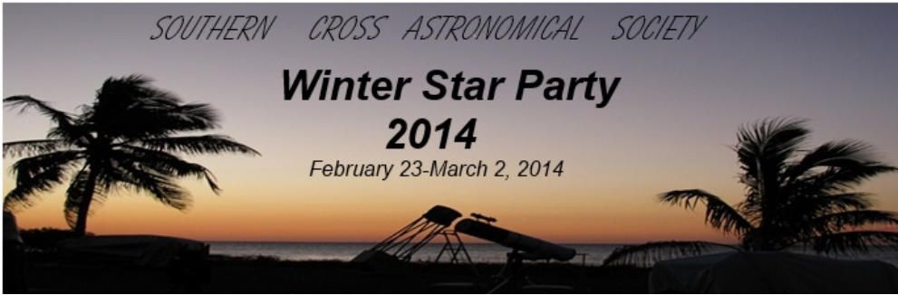 2014 Winter Star Party
