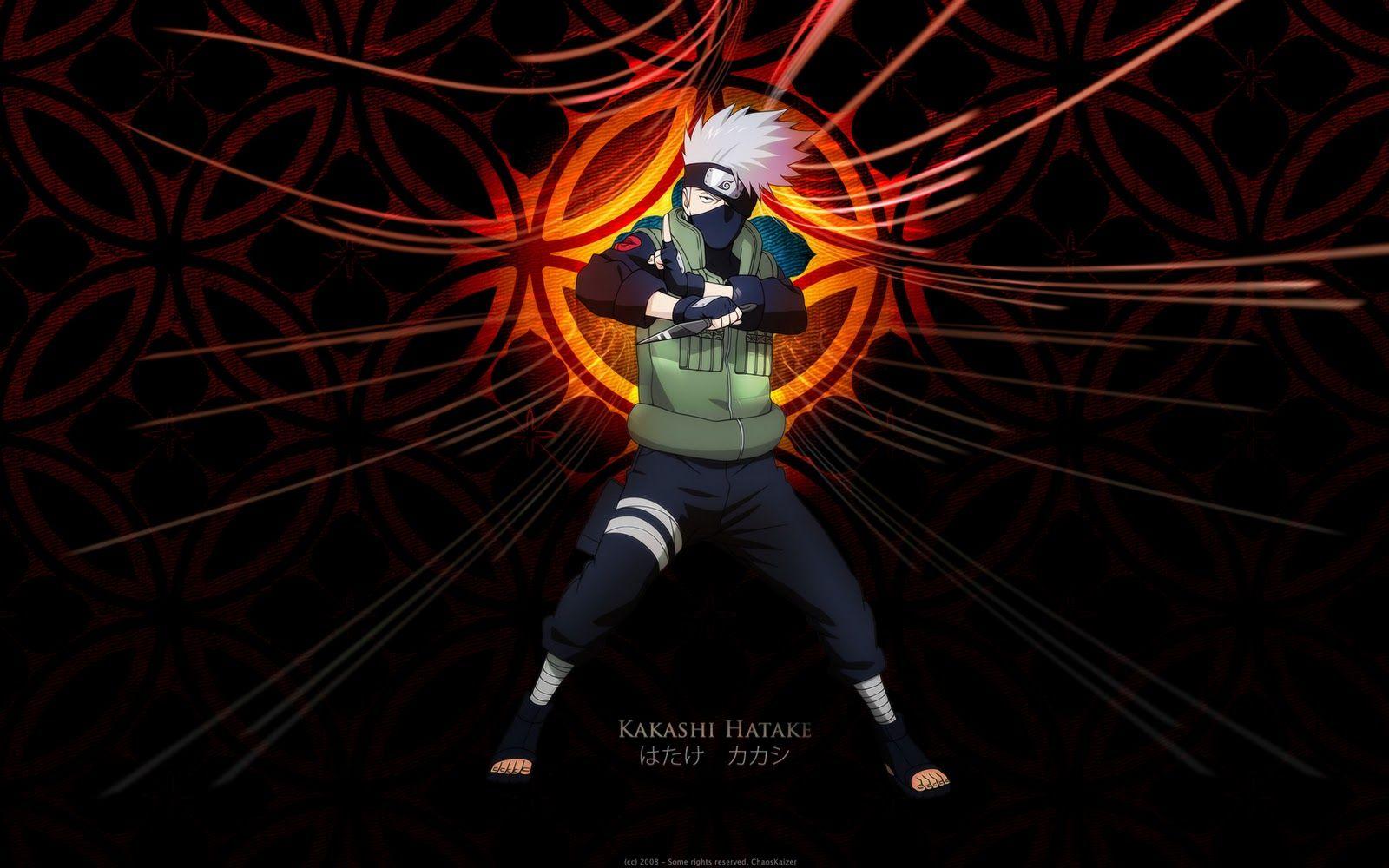 Naruto Con Movimiento Para Celular Buscar Con Google Kakashi Hatake Kakashi Naruto Kakashi