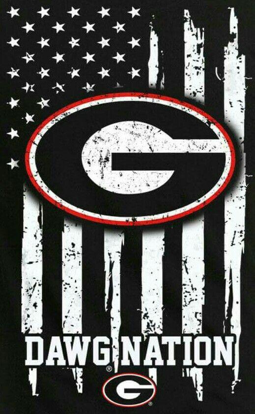 Wallpaper Logo Georgia Bulldogs Football