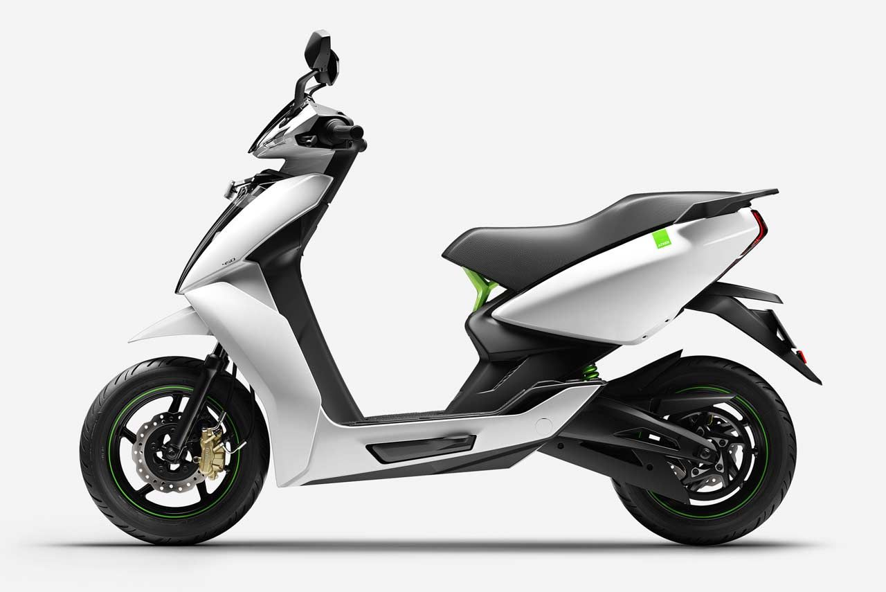 Ather 340 Ather 450 Electric Scooters Launched In India